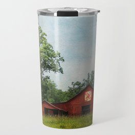 Quilt Barn Travel Mug