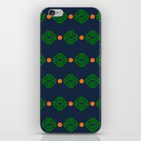 preppy iPhone & iPod Skins featuring Preppy Logo by Lillian Burns
