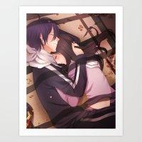 bond Art Prints featuring Bond by neko-niki