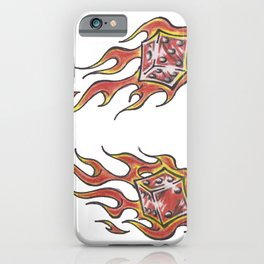 le flame iPhone Case