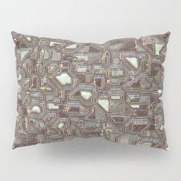 Vintage digital shapes Pillow Sham