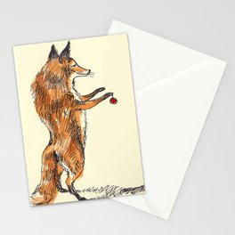 Christmas Fox Stationery Cards