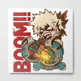 boom bakugo Metal Print