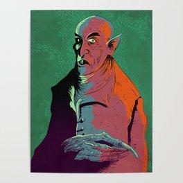 Nosferatu At Rest Poster