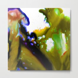 Abstract Bliss 3C by Kathy Morton Stanion Metal Print