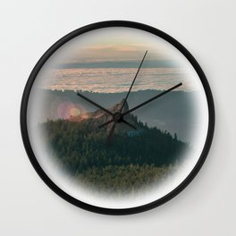 Sturgeon Rock Wall Clock