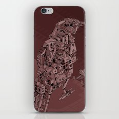 Red Bird Machine City iPhone & iPod Skin