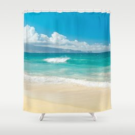 Hawaii Beach Treasures Shower Curtain