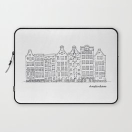 Amsterdam Streetscape Laptop Sleeve