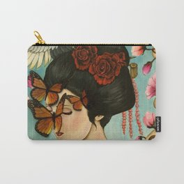 The Exploitation of Butterfly Carry-All Pouch