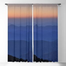 Sierra Nevada. Sunset at the mountains. Astronomical Observatory at 3000 meters Blackout Curtain