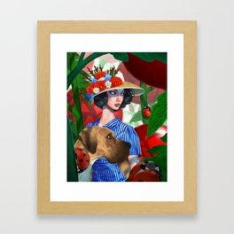 Tomato Princess Framed Art Print