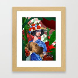 Tomato Princess Framed Art Print