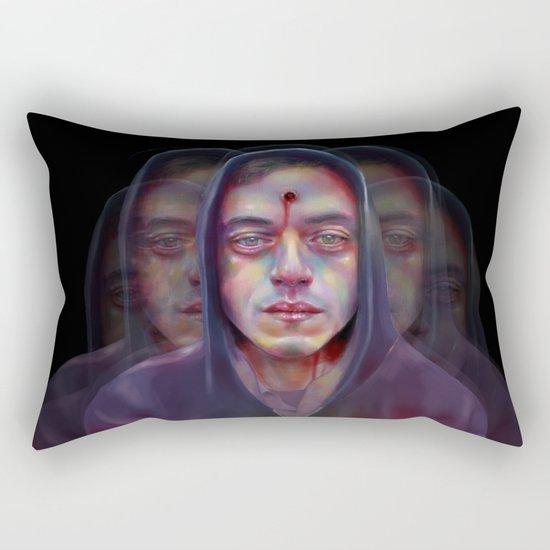 Sound and Color Rectangular Pillow