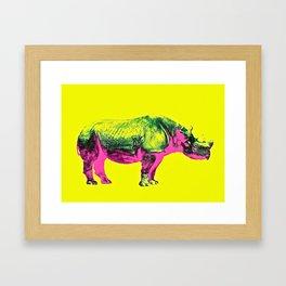 rhino /1 Framed Art Print