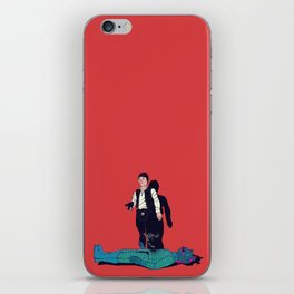 Over my dead body iPhone Skin