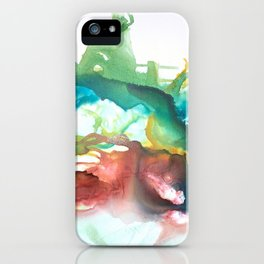 HUSTLE+FLOW iPhone Case