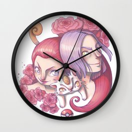 Team Rocket Wall Clock