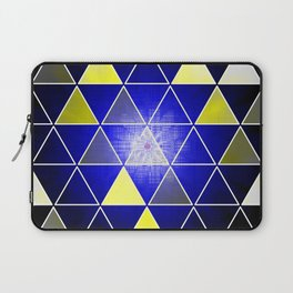 wild triangle flower Laptop Sleeve