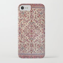 Persian Old Century Authentic Colorful Red Pink Light Blue Purple Vintage Patterns iPhone Case