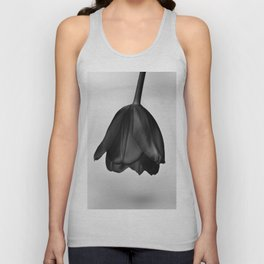 Black tulip Unisex Tank Top