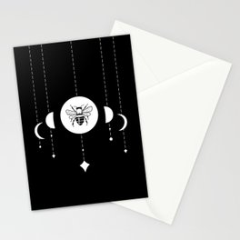 Bee & Moon Phases Stationery Cards