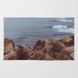 Sunset Cliffs Storm Rug