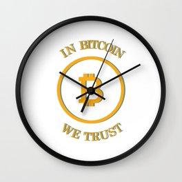 I love programming - Funny Programmer Edition Wall Clock