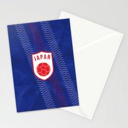 Japan Football Stationery Cards
