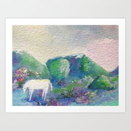 Singing Horse From Raise Every Voice and Sing Art Print