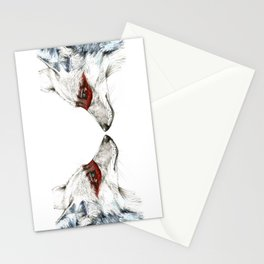Twin Coyotes Stationery Cards