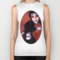 lydia martin Biker Tanks featuring Lydia Deetz by Rouble Rust