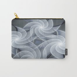Fractal abstract with pinwheels Carry-All Pouch