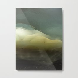 The ice that hides in the desert Metal Print