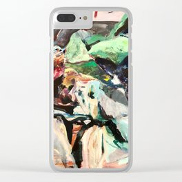 Already Undone Clear iPhone Case