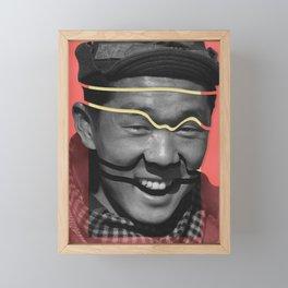 Discombobulated Eight Framed Mini Art Print