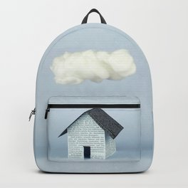 A cloud over the house Backpack