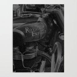 Chalk & Charcoal Royal Enfield #1 Poster