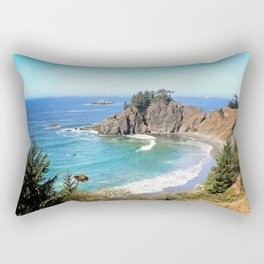 coastal overlook Rectangular Pillow