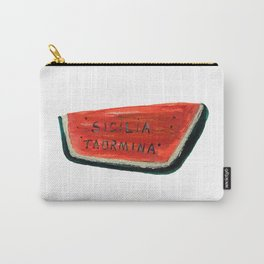 Fan's illustration - Watermelon ceramic in Taormina Sicilia Carry-All Pouch