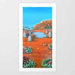 Beds Are Burning Art Print