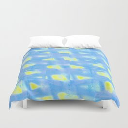 Abstract BB W Duvet Cover