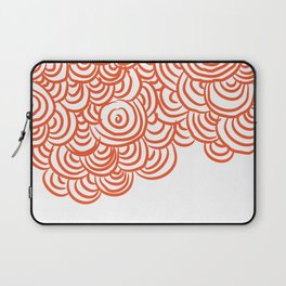 Tide pools in Red Laptop Sleeve