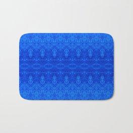 Dark Blue Grunge Bath Mat