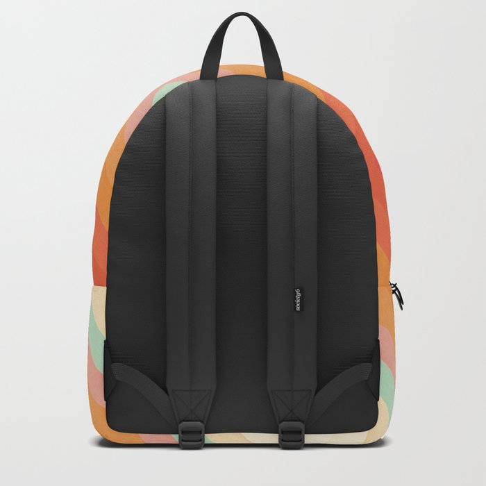 Rainbow Chevrons Backpack