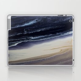 Marble in Blue and Ivories Laptop & iPad Skin