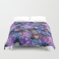 marine Duvet Covers featuring Marine life by AldanNi