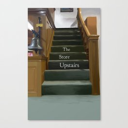 The Store Upstairs Canvas Print