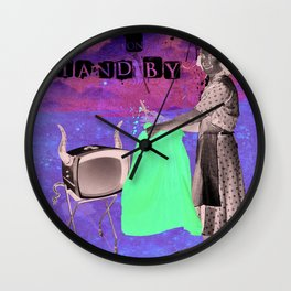 life on stand by Wall Clock