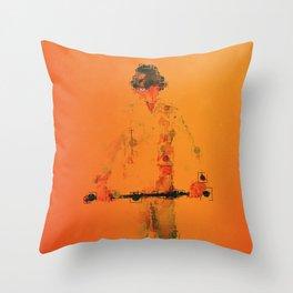 Droogie Throw Pillow